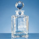 Crystal Square Spirit Decanter