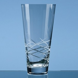 Tiesto Cut Conical Vase Medium 25cm