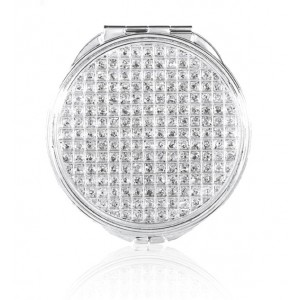 Diamond Effect Round Compact