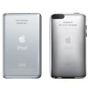 iPod Classic & Touch Personalisation