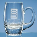 Crystal Plain Barrel Tankard