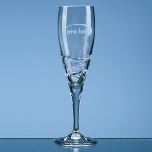 Verona Lead Crystal Champagne Flute